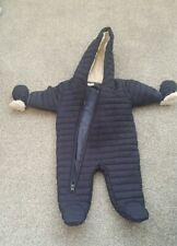 Baby snowsuit 0-3months Next navy blue