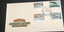 Australia fdc 1979 Ferries & Murray River Steamers