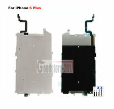 For iPhone 6 Plus LCD Metal Shield back plate Home button flex cable connector