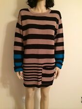 MARC by Marc Jacobs 100% Cotton Knitted Sweater Dress Size L NWT