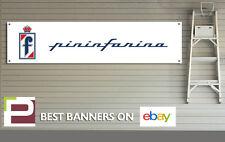 Pininfarina Suran PVC Banner con ojales para taller, garaje, Fiat, Ferrari