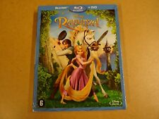 BLU-RAY + DVD / RAPUNZEL ( DISNEY )