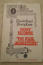 1967 Theatre Royal Drury Lane: Harry Secombe Kenneth Connor THE FOUR MUSKETEERS