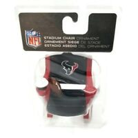 NFL Houston Texans Stadium Chair Christmas Holiday Ornament American Football