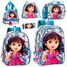 Dora The Explorer Backpack Kids School Rucksack Exploradora Lunch Cooler Bag