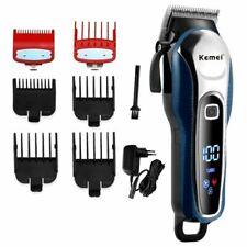 Men Hair Trimmer 2000mAh Electric Cordless Corded Clipper Beard Cutter Machine