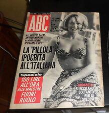 ABC (rivista) 50/1965 Cover: Sophie Hardy con Artiglio d'acciaio di Jesus Blasco