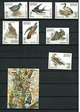 Malagasy 1029 - 1036 - Birds. Set Of 8. MNH. OG.   #02 MALAG1029s8
