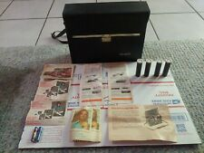 Polaroid Carrying Case # 339 With Instructions, Paperwork,  4 Print Coaters,...