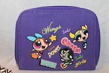 NEW WITH TAGS   PURPLE POWERPUFF GIRLS COIN WALLET