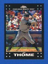 2007 Topps Chrome REFRACTOR #205 Jim Thome White Sox HOF NM-MT+