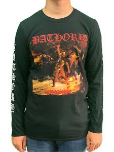 Bathory Hammer Heart Long Sleeved Unisex Official T Shirt Brand New Various Size