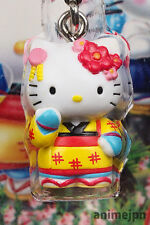 [New] Sanrio Hello Kitty The Dancing Girl of Izu Cell Phone Strap / Charm Mascot