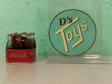 Vintage Mini 6-Pack Coca-Cola Bottles