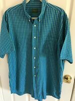 Men's Bobby Jones collection size XL cotton stripe short sleeve shirt