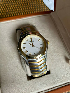 Ebel Classic Wave - Herren Uhr - Stahl / Gold