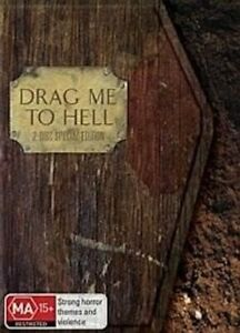 Drag Me to Hell (R4) - Rare DVD Aus Stock -DISC LIKE NEW