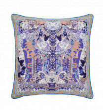 new CAMILLA FRANKS SILK SWAROVSKI PORCELAIN PARADISE LARGE SQUARE CUSHION