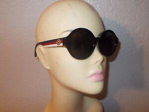 Gucci GG0280SA Multi-Color Frame Gray Lenses Sunglasses