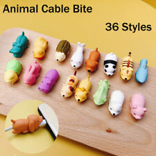 Cartoon Animal Cable Bite Cute Phone Charger Protector Soft Cord Accessories