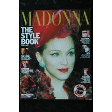 MADONNA 1992 US THE STYLE BOOK OMNIBUS PRESS VIRGIN IMPORT