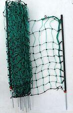 Garten-Elektrozaun Hunde/Katzen Hundezaun 12m/65cm grün Kaninchennetz