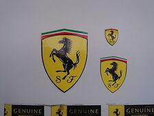 FERRARI Scuderia Shield Sticker Set
