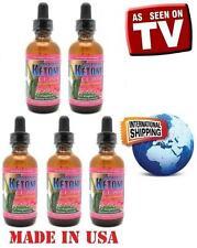 Five Raspberry Ketone Lean Liquid Drops 2 oz. Fat Weight Loss. Better Than Pills