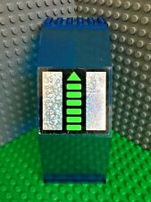 LEGO Panel Window 10 x 6 x 11 with Unitron Silver / Green Pattern Monorail 6991