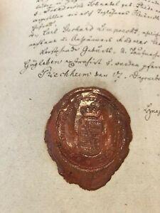 1860 SEALED MANUSCRIPT - Hugo Edmund Boehm