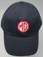 MG MGTC MGTD MGTF MGA MGB MGBGT MIDGET EMBROIDERED HAT NAVY CAP