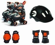 Avigo Boys Soft Shell Rollerskate, Boys Combo Skates Sizes 1-4 Orange