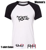 MY CHEMICAL ROMANCE Graphic Tees Womens Ladies Girl's Cotton T-Shirt Tops