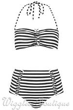 Topshop Polyamide Bandeau Bikini Sets for Women