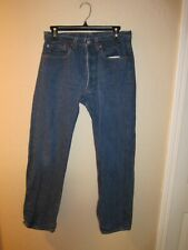 Levi's 501 Men's 32x32 *Actual 30x28.5 Blue Jeans 501 Button Fly USA VTG Dark!