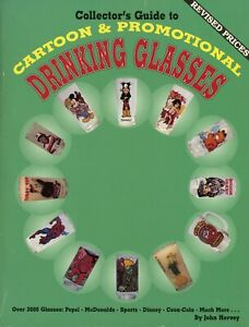 3,000+ Cartoon & Promotional Drinking Glasses / Illustrated Book + Values