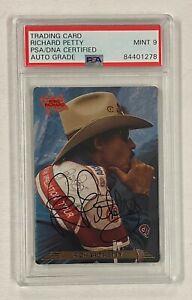 Richard Petty NASCAR Signed Autograph Auto 1993 Action Packed # 75 PSA 9 AUTO