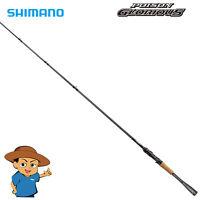 "Shimano POISON GLORIOUS 1610ML-BFS Medium Light 6'10"" bass baitcasting rod pole"
