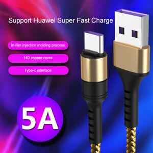 Typ-C USB C Ladekabel Typ C Schnell Kabel für original Samsung Huawei Xiaomi