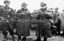 WW2 Picture Photo Young Germans Soldiers Prisioners  of US 1945 1274