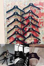Chanel Cc Velvet 13Hangers 6 coat Hangers 6 Shirt Hangers 1 Pants