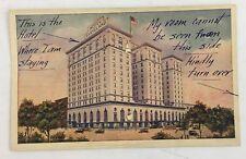 Vintage Postcard Hotel Cleveland Press Ohio