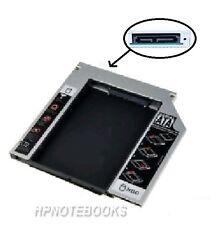 NEW 9.5mm SATA 2ND SSD Hard Drive Caddy Tray for Dell E6410 E6510 E4300 M4500
