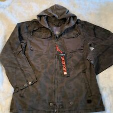 Burton Men's General Jacket Covert Green Paisley X-Large - New with Tags!