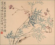 Chinese Flower Paintings: Wang Shishen: Landscapes, Flowers p.3 - Fine Art Print