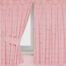 Pink Bench Curtains 66 X 54 includes Tie Backs