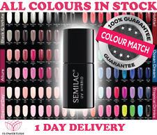 Semilac Soak off Nail Gel Polish Uv/Led Hybrid Nails Manicure New Colours!!