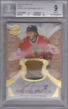 2015-16 The Cup RYAN HARTMAN GOLD RPA 3 Color Patch Chicago Blackhawks BGS 9