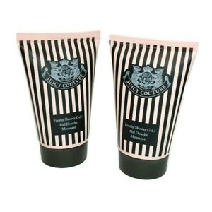 Juicy Couture Frothy Shower Gel Body Wash Set of 2 Tubes 4.2 fl oz (each tube)