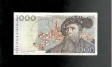 More details for sweden, 1992, 1000 kronor, p-60, crisp vf+!
